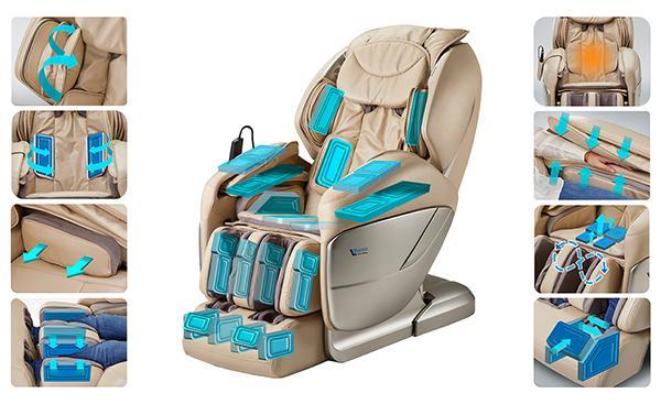 thay túi hơi ghế massage chính hãng