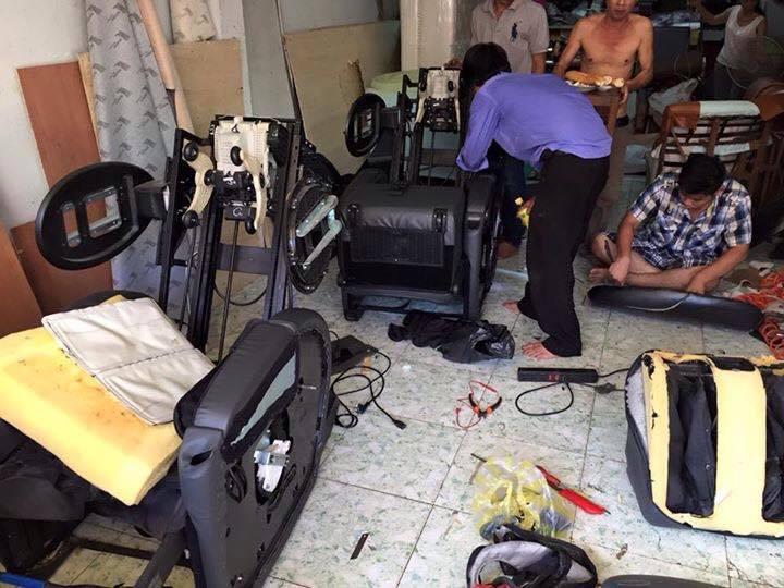dịch vụ sửa chữa ghế massage quận 2